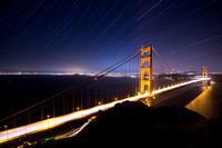 Golden Gate Star Trails